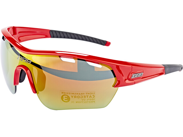 BBB Select XL BSG-55XL Cykelbriller rød (2019) | Glasses
